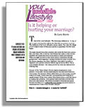 Your Invisible Lifestyle: Is it helping or hurting your marriage?